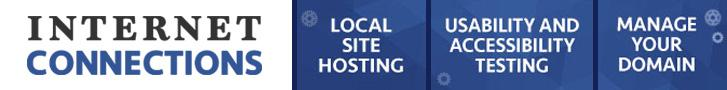 Internet Connections local website Hosting