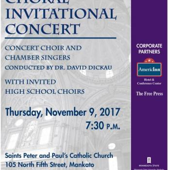 University Choral Invitational Concert
