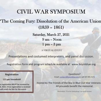 Boy in Blue Civil War Symposium