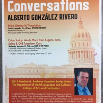 CUBA(N) Conversations with Alberto González Rivero
