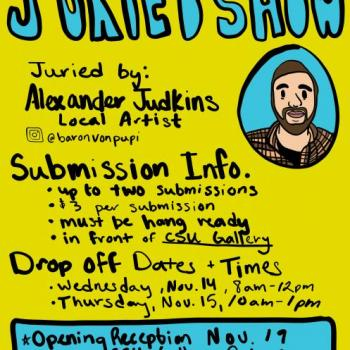 Student Art League's Annual Juried Show