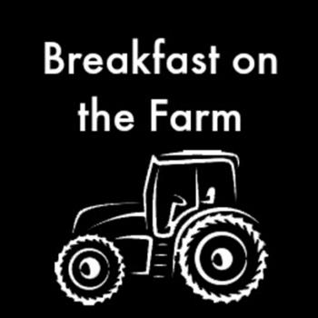 Breakfast on the farm image of a tractor