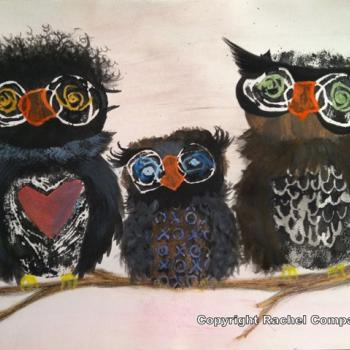 Owls by Rachel Compart-Gemlo