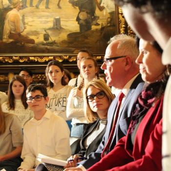 High school students meet with Gov. Walz and Lt. Gov. Peggy Flanagan