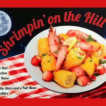 Shrimpin' on the Hill, a benefit for the Good Counsel Learning Center in Mankato, MN