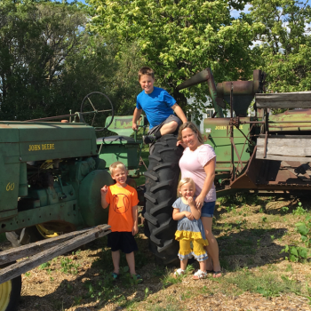Family fun on the farm at Farmamerica