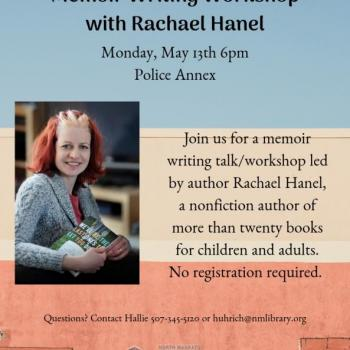 memoir writing flyer