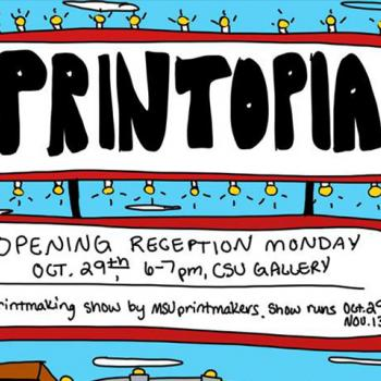 Art Student Exhibition: Printopia