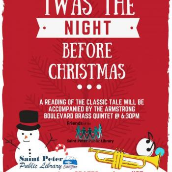 'Twas the Night Before Christmas 12/11/18 6pm