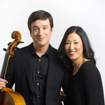 The Altino Duo featuring Brazilian cellist Leonardo Altino and his Korean wife, violinist Soh-Hyung Park Altino with pianist Bethel Balge, Martin Luther College, Summit Avenue Music Series, New Ulm, MN