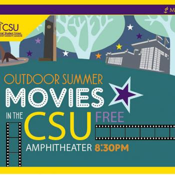 Free movies in the CSU flyer