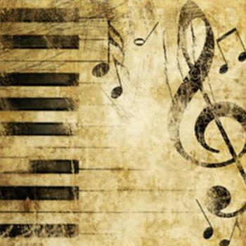 Jazz and Blues Music Notes and Keys