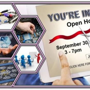 You're Invited to an Open House - Sept 30 - 3-7 pm & Oct 1 - 9 am - Noon