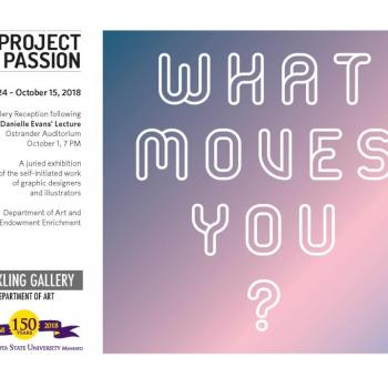 Project Passion Front of Brochure