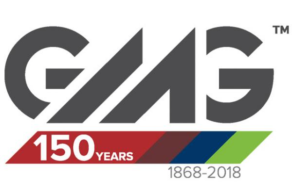 Greater Mankato Growth, Inc. 150th Anniversary Logo