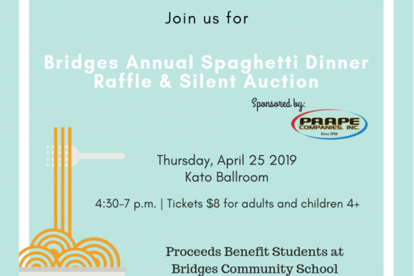 Bridges Spaghetti Dinner 2019