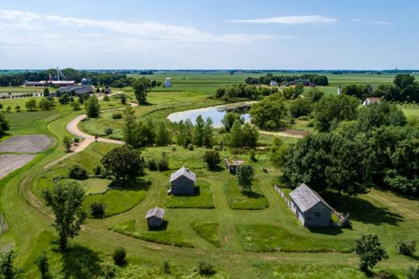 Farmamerica offers 120 acres to explore, discover and connect with farming and agriculture