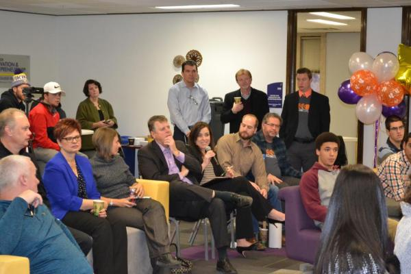 Audience at 1Million Cups Mankato