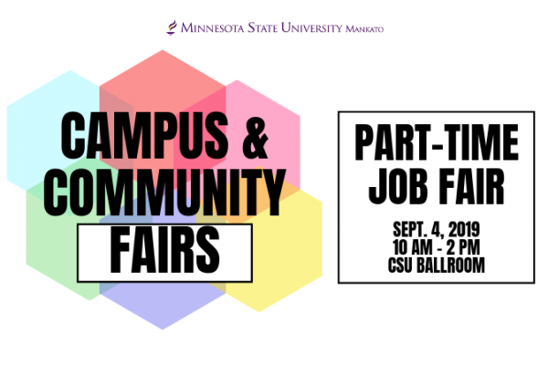 Part-Time Job Fair 2019 @ Minnesota State University, Mankato