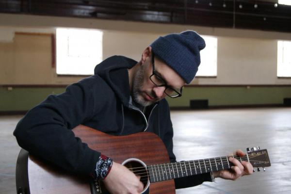 Nate Boots with Guitar