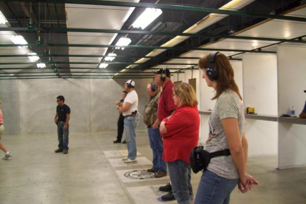 Mankato Concealed Carry Class Covers Both In Class and Range Portions